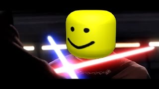 Every Starwars death but with the Roblox death sound