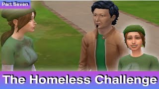 The Sims 4: Homeless Challenge // Building Permit (Part 7)