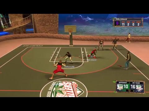NBA 2K17 MyPark | 100 Subs Grind | Best Snagger