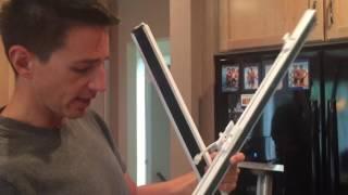 Samsung French Door Refrigerator Won't Close - Mullion Fix / Repair