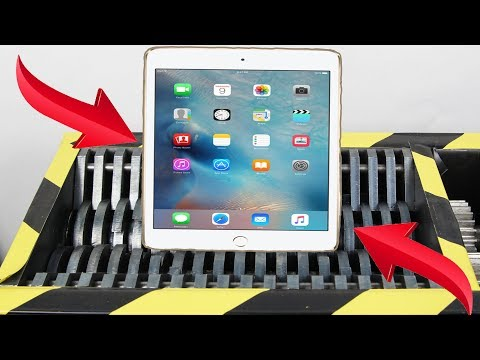 Experiment Shredding New Apple Ipad Lego And Toys Satisfying | The Crusher