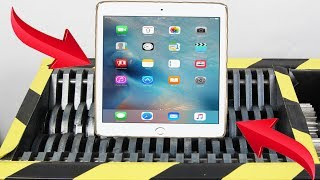 Experiment Shredding New Apple Ipad Lego And Toys Satisfying | The Crusher