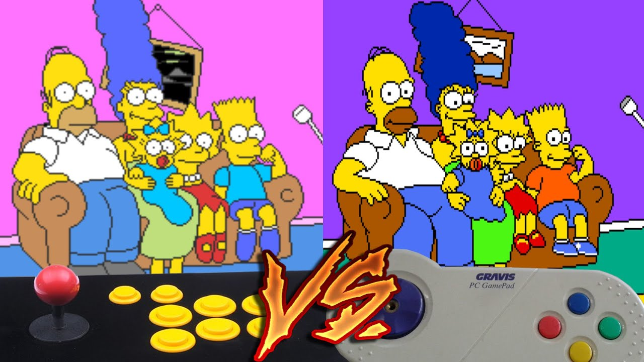 simpsons game pc