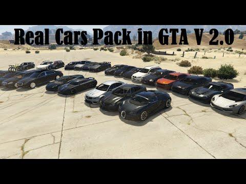 GTA V | REAL CARS PACK  2.0 | 240 CARS | DOWNLOAD LINK