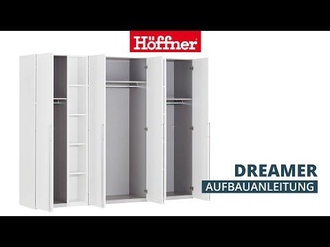 Aufbauanleitung Dreamer Schrank mit Drehtür