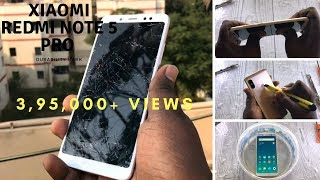 Xiaomi Redmi Note 5 Pro-DURABILITY TEST-Drop test,Scratch test,Water test & Bend test