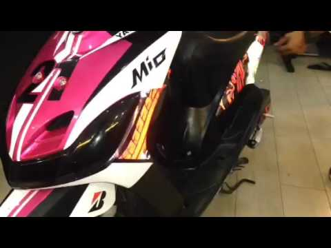Motorcycle Decal Skin Set Up YouTube - Mio decalsyamaha mio sporty sticker decals for motorcycle cebu philippines