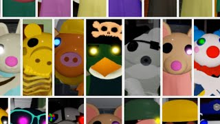 ROBLOX PIGGY ALL JUMPSCARES FAST MOTION