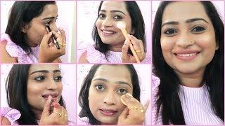 दररोज चा मेकअप अशाप्रकारे करा आणि दिसा सुंदर | Simple Every day Makeup Tutorial for Beautiful Look