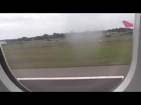 Sri Lankan Airlines Airbus A330 Take off from Colombo UL505