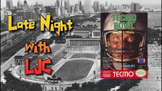 Tecmo Bowl (Season Game 2, 3 & 4) - Nintendo Switch - Late Night With LJC