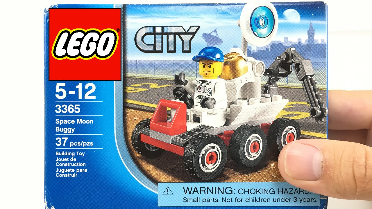 LEGO City 2011 Space Moon Buggy set review! 3365