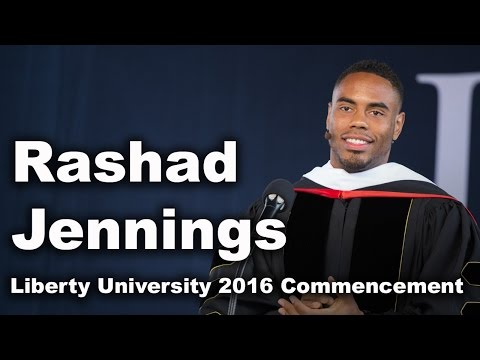 Commencement 2016 - Rashad Jennings - YouTube