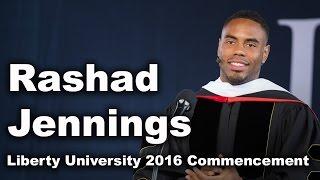 Commencement 2016 - Rashad Jennings