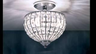 Flush and Semi Flush Ceiling Lighting