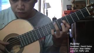 Aubrey - D. Gates (arr. Jose Valdez) Solo Classical Guitar