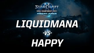 StarCraft 2 - LiquidMaNa vs. Happy (PvT) - WCS Season 3 Challenger EU - Match 2
