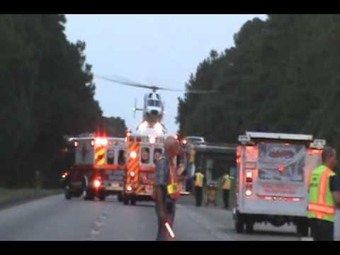 Colleton Fire Omniflight Helicopters Scene Calls Sept 2010