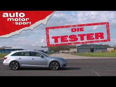 Audi A4 Avant: Kombi ohne Quattro - Die Tester   auto motor und sport