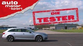 Audi A4 Avant: Kombi ohne Quattro - Die Tester | auto motor und sport