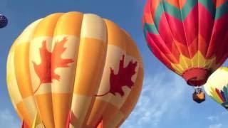 Фестиваль воздушных шаров в Америке (Юта,Прово)