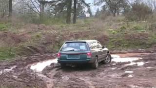 Subaru Legacy LSi - Offroading