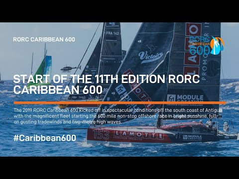 Start of the 11th edition RORC Caribbean 600