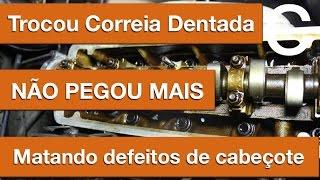Dr CARRO Motor não pega após troca da correia dentada