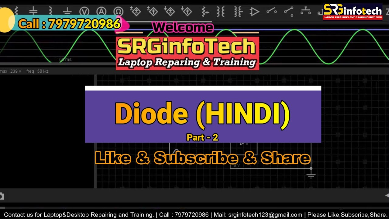 Diode Part2 | Laptop Repainting Training Course in HINDI