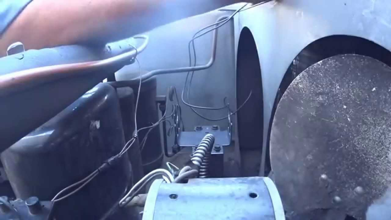 Change a 1/6 hp condenser fan motor with a stronger 1/4 hp cradle ...