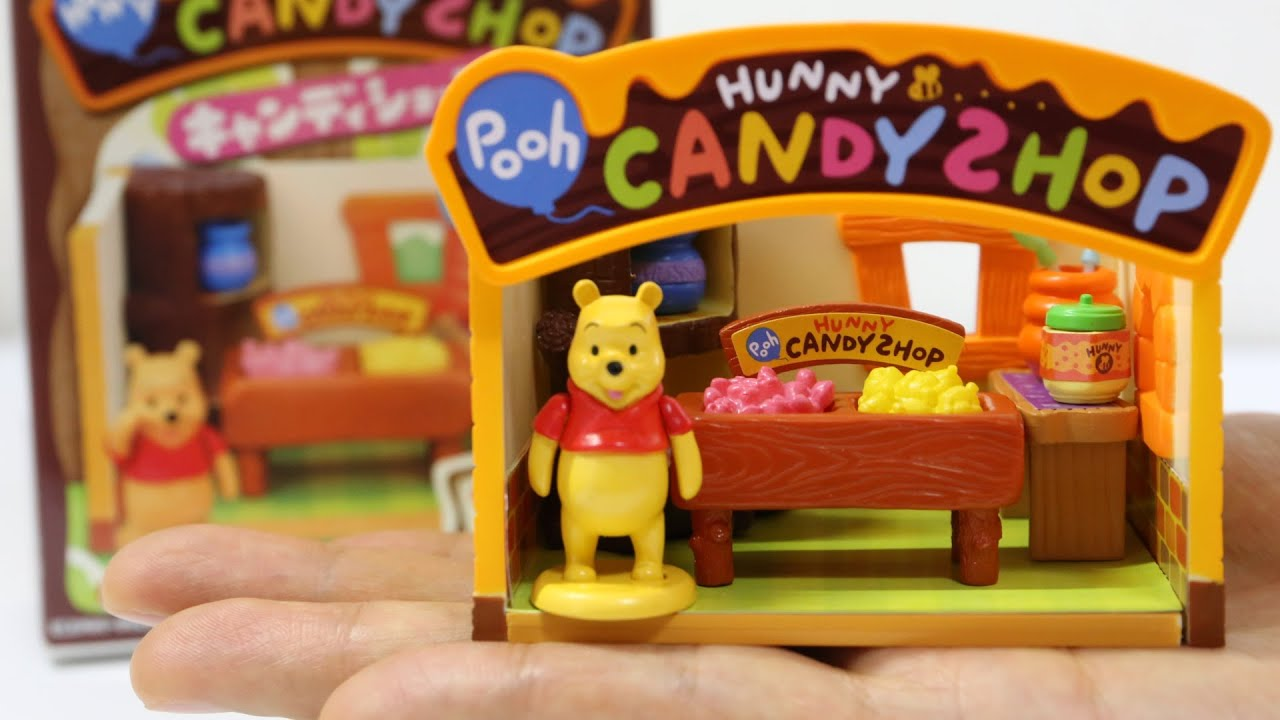 re ment winnie the pooh candy shop youtube. Black Bedroom Furniture Sets. Home Design Ideas