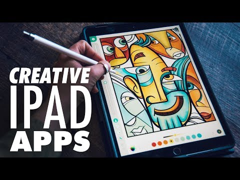 My Favorite Creative IPad Apps