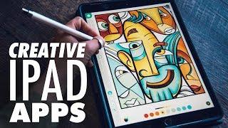 My Favorite Creative iPad Apps