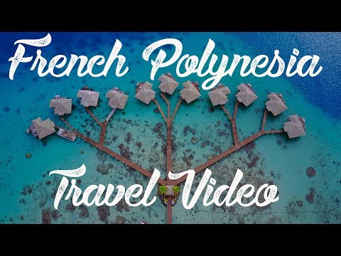 French Polynesia 4K Drone Footage