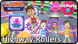 Wii Party U: Highway Rollers (2 players, Master Difficulty)