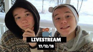Marcus & Martinus - Livestream (17/12/18)🎥