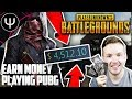 PLAYERUNKNOWN'S BATTLEGROUNDS — Make FREE MONEY Playing PUBG!