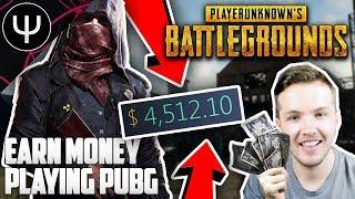 PLAYERUNKNOWN'S BATTLEGROUNDS — Make FREE MONEY Playing PUBG!