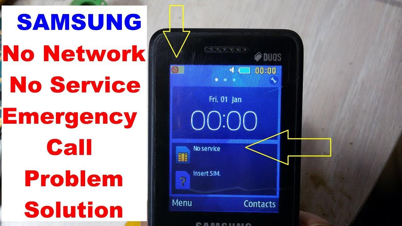 How To Repair Samsung No Service Problem B350E ,B355E ,B313E ,B310E 100%  Solution