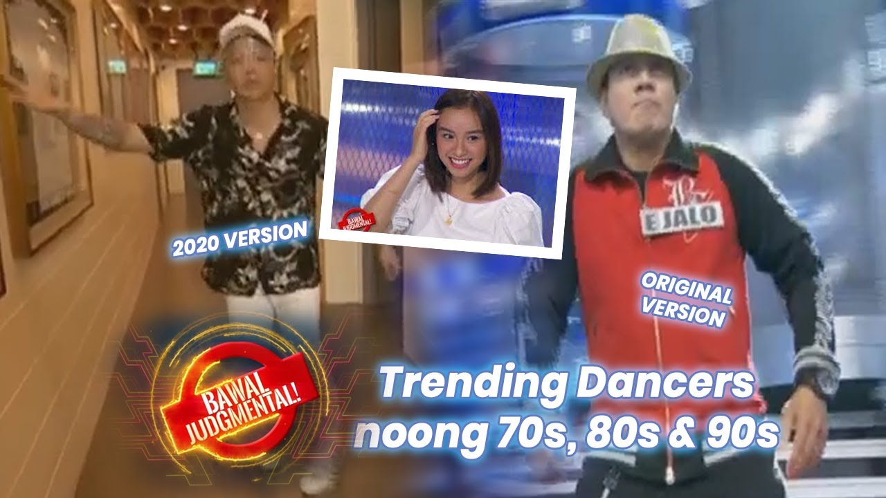 Showdown ng mga Trending Dance Craze: 70s, 80s & 90s vs 2020s | Bawal Judgmental | Sept. 28, 2020