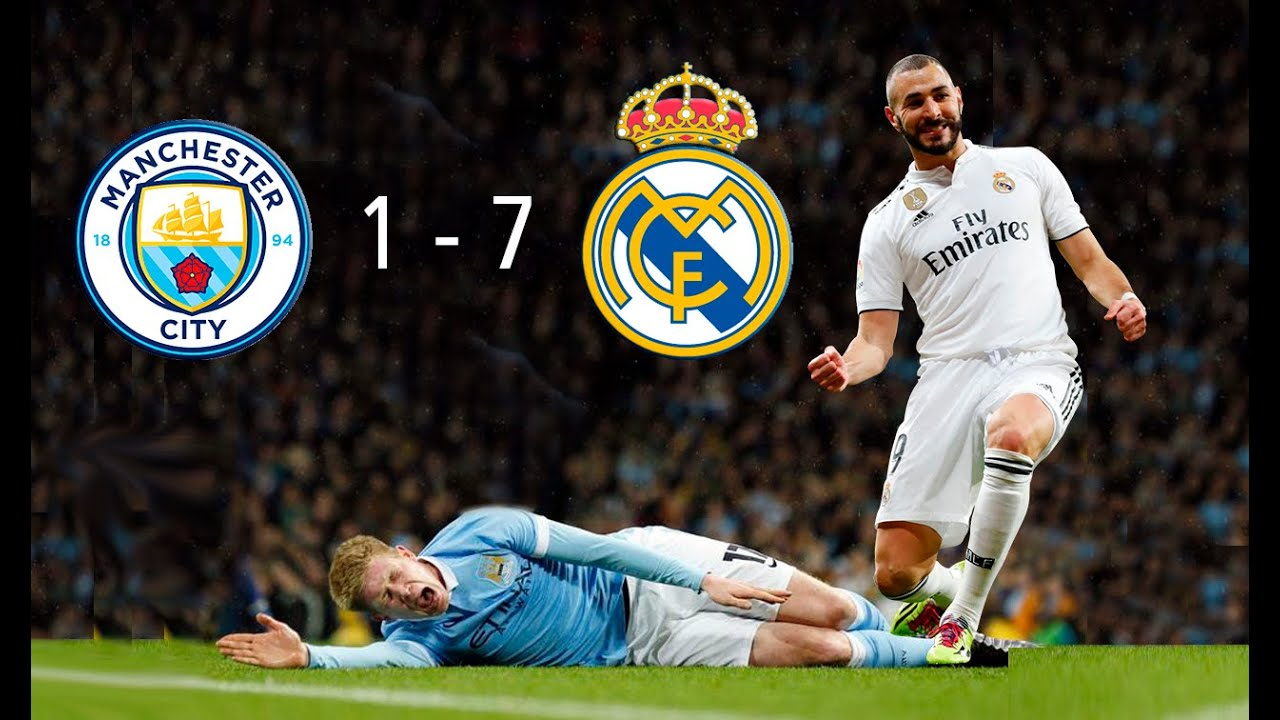 Champions League Highlights: Man City vs. Real Madrid