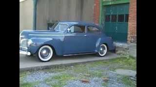 1941 DODGE LUXURY LINER TEST DRIVE