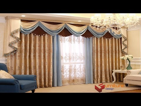 Curtain Design For Home Interiors India  | Parda Design In Room | Curtain Style  In Pakistan 2018