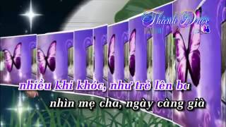 Karaoke LK Nh  Gia   nh  Ch  LK Th nh Ph  Bu n   L  B o B nh By Th nh    c