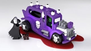 Wood Toy Plan - Hot Rod Wacky Dracula Hearse