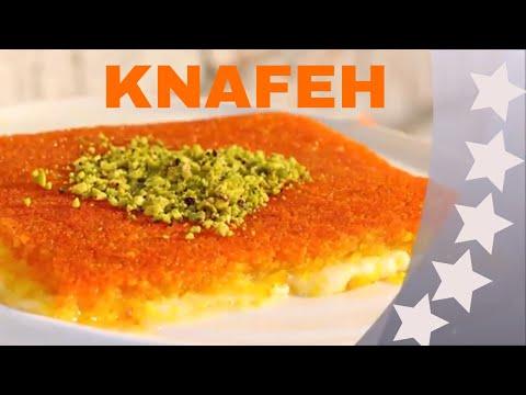 lebanese knafeh recipe  كنافة
