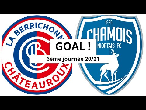 Chateauroux Niort Goals And Highlights