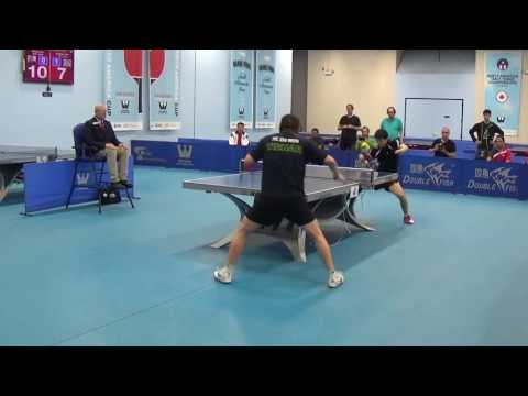 Westchester Table Tennis Center July 2017 Open Singles Semi Final #1