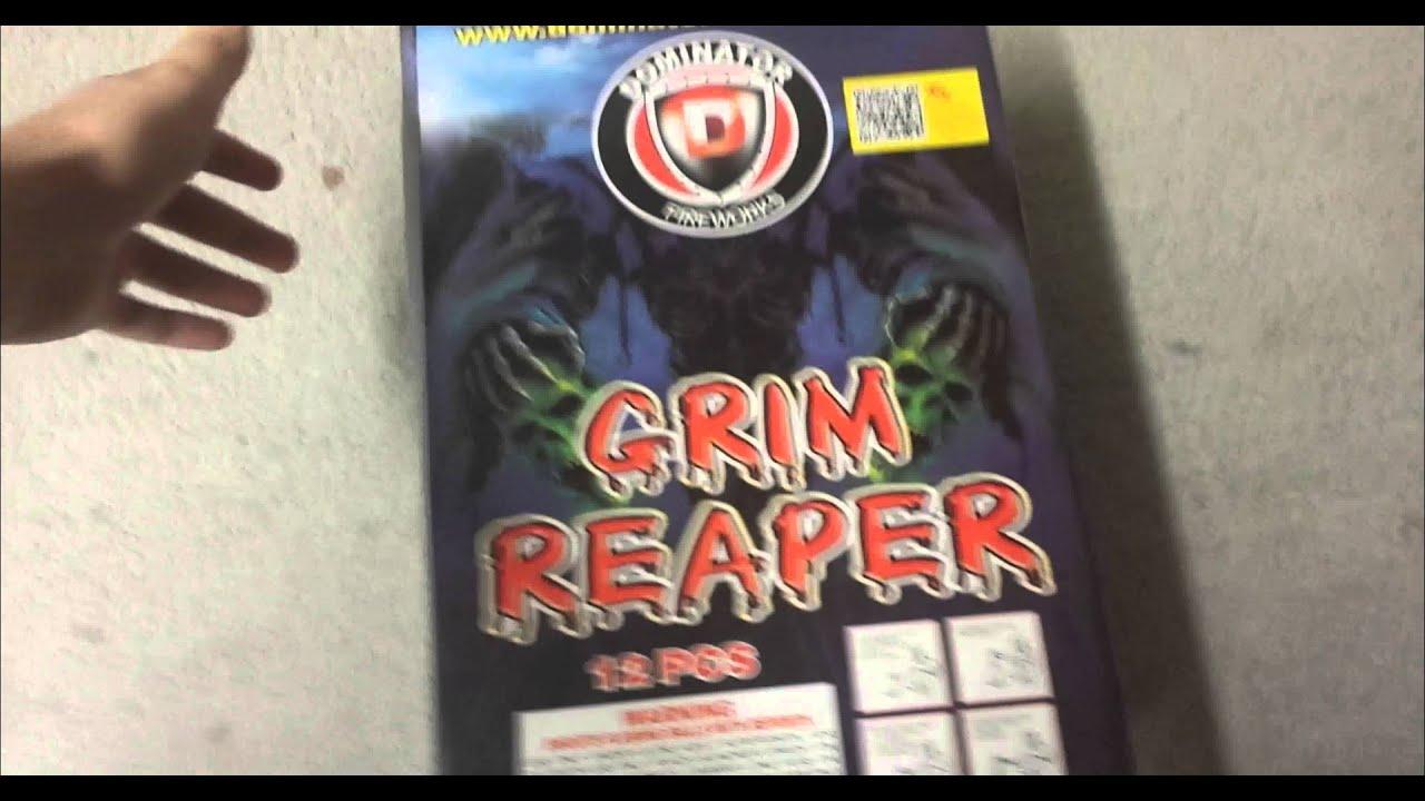 Fireworks Demo (Canister Shell) - Grim Reaper (Dominator ...
