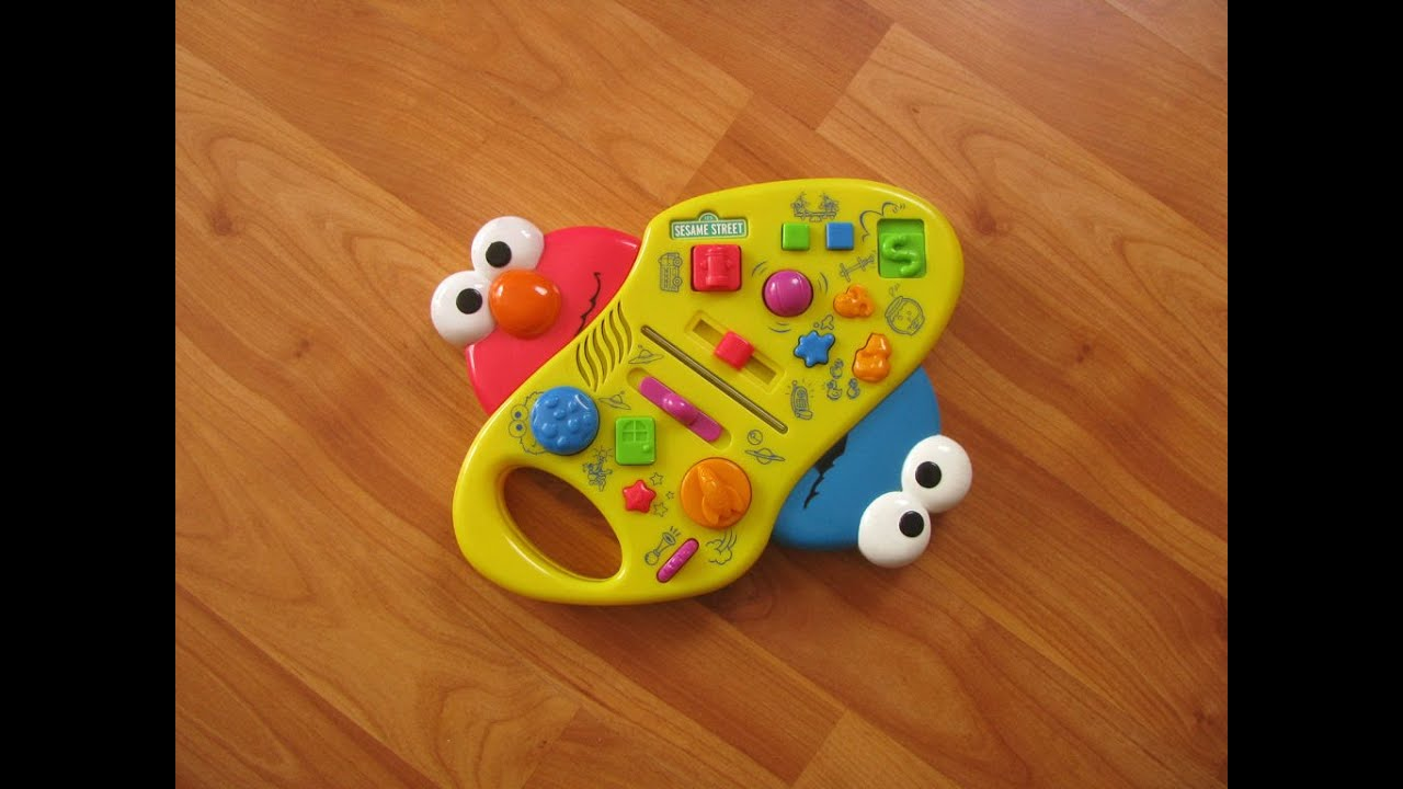 Sesame Street Giggle Sound Station Toy With Elmo  Cookie